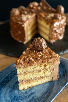 Ferrero Rocher, Pie, Desserts, Food, Torte, Tailgate Desserts, Cake, Deserts, Fruit Cakes