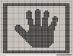 Схемки для теневого вязания, подборка № 2