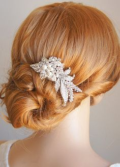 MAITE Vintage Style Bridal Hair Accessories by GlamorousBijoux, $97.00