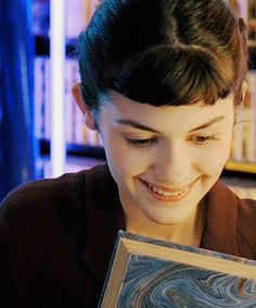 Audrey Tatou in Amelie—utterly charming