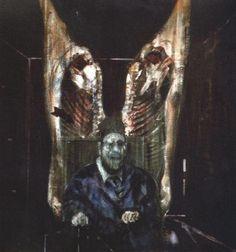 Arte Pintura Surrealismo Francis Bacon Papa Inocencio Velazquez *cortina de costelas*