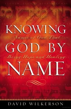 Revealing the character of God through   His Name. Great Book.