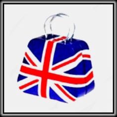 Great Britain Flag  TIN 'HANDBAG' 👜  ✨NWOT✨ 👜 Designed to hold change, jewelry or......❓😎 👜                                                                                                                 ✨PRICE FIRM UNLESS BUNDLED✨ Accessories