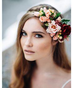wedding flower crowns   we ♥ this! moncheribridals.com