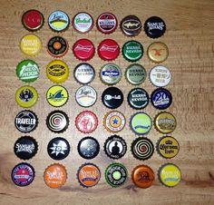 Assorted Lot Of Beer Bottle Caps