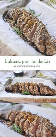 Balsamic Pork Tender