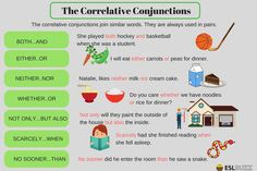 Types of Conjunctions 3/3: The Correlative Conjunctions