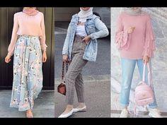 311db3e56 تنسيق ملابس محجبات للربيع 2019 Early Spring Hijab Lookbook Mode Hijab,  Pantalons Sarouel