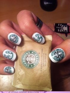 I like Starbucks as much as the next person but this is some serious dedication!