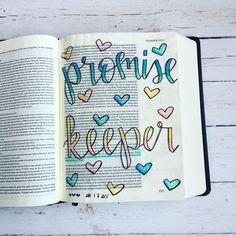 Bible Journaling by Faith Bible, My Bible, Bible Scriptures, Bible Drawing, Bible Doodling, Scripture Art, Bible Art, Bible Study Journal, Art Journaling