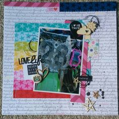 Awesome layout by Kim using the Bella Blvd Luck Starz collection! My Scrapbook, Scrapbook Layouts, Online Paper, Craft Stores, How To Introduce Yourself, Nerd, Paper Crafts, Create, Awesome