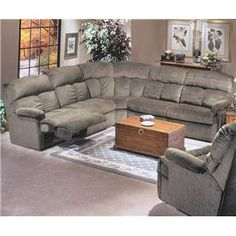 Flexsteel Triton Power Reclining Sofa Sectional  sc 1 st  Pinterest & Liam 6-pc Fabric Sectional Sofa with Console and 3 Power Recliners ... islam-shia.org