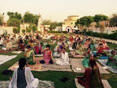 camp with blessings of yoga guru baba Ramdev World Yoga Day, Baba Ramdev, International Yoga Day, Blessings, Dolores Park