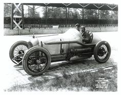 Roscoe Sarles, of Lafayette, Indiana, finished 2nd in the 1921 Indy 500.