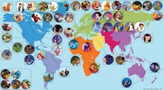 Disney movies in the world