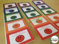 Personal behavior chart for desk