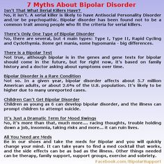 7 Myths About Bipolar Disorder