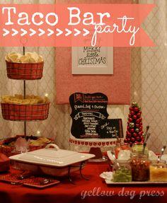 Food: Taco Bar Party