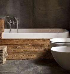 Como utilizar la madera reciclada en la decoración el baño/ How to use a recycled wood in decaration bathroom | Bohemian and Chic
