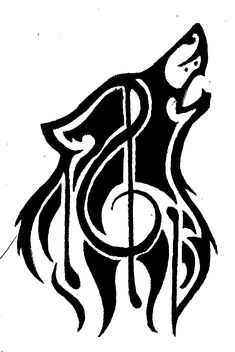 tribal musical tattoo - Buscar con Google