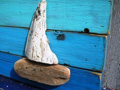 Lake House Decor,Wood Sailboat,Driftwood Art,Nautical Decor,Tropical Art,Drift…