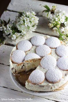 SERNIK KOKOSOWY Z BIAŁĄ CZEKOLADĄ BEZ PIECZENIA Sweet Desserts, Delicious Desserts, Cake Recipes, Dessert Recipes, Instant Pot Dinner Recipes, Sweets Cake, Diy Cake, Dessert Drinks, Eat Dessert First