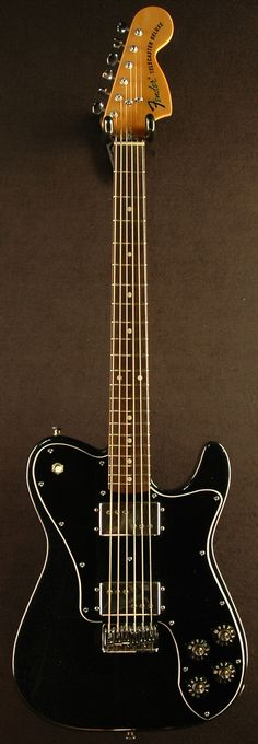 1979 Fender Telecaster Deluxe (what I'd give to have this guitar...)