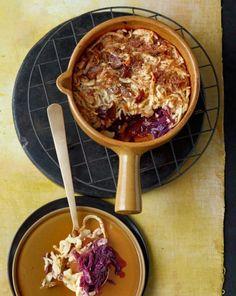 Maronen-Spätzle mit Rotkohl - Klimafreundliche Rezepte: vegetarisch genießen - 4 - [ESSEN & TRINKEN]