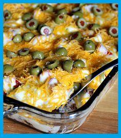 Maria's Kitchen: Haystacks casserole