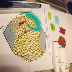 And again dragon)