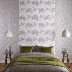 Woodstock Natural Floral Wallpaper - Beige Flower Wall Coverings by Graham  Brown