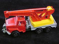 Vintage Majorette - Mobile Crane Truck - 1.60 Scale - Nr Mint - Fast Post - Rare #Majorette