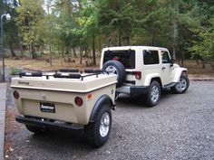 Jeep Sahara Off Road Camper Trailers and Jeep 4x4 Campers by Tentrax