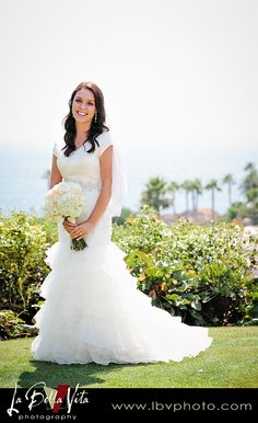 Alluring Glamour - Modest Wedding Gown