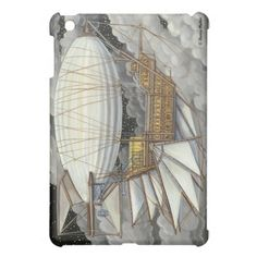 Airship Express Steampunk iPad Mini Case