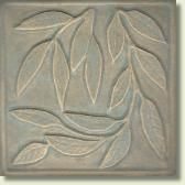 Willow Leaf Tile, 4.25""