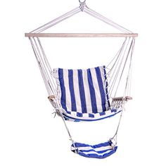 A Hammock Just Like In The Old Days The comfort and convenience of this beautifully made hammock are sure to bring back memories. Set it up and gather your family around it to hang out in the afternoo