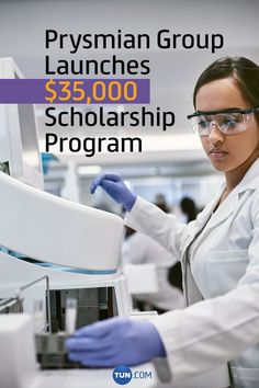 This year, Prysmian Group will award a total of $35,000 in scholarships. Scholarships For College, Product Launch, Group