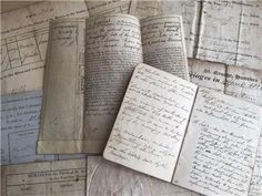 Early 19hC Documents and Diary Langstaffe Family listed on eBay with luvjoysantiques The Rite, Ebay Listing, Ebay Auction, Ephemera, Templates, Personalized Items, Antiques, Paper, Things To Sell