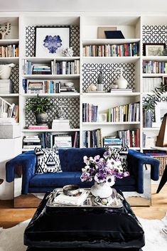 28 Best Living room with bookshelves images | Bedrooms, Future house ...