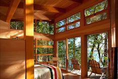 Gulf Island Cabins by Osburn Clarke