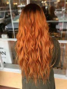 38 Orange Hair as Shining as Fire hair style, hair color, Ginger Hair Dyed, Ginger Hair Color, Red Hair Color, Dyed Hair, U Cut Hairstyle, Red Orange Hair, Orange Yellow, Fire Hair, Beautiful Hair Color