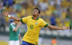 un altro calciatore che ammiro moltissimo per il suo talento è questo ragazzo di nome neymar
