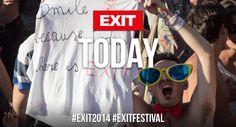 EXIT Festival starts today Yeeeey, Srbija, 10 - 13. jul 2014.