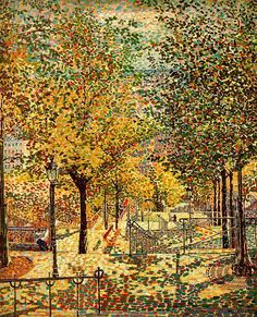 Gino Severini, Spring in Montmartre, 1909. Oil on canvas.