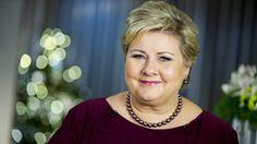 Statsminister Erna Solberg sparket i gang 2016 med det som nå er kåret til årets nyord: «Hverdagsintegrering». – Jeg synes det er fint, sier Solberg.
