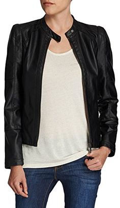 Uni 38 Cuir Morgan Fabricant 38 Noir Et Femme Longues Vêtements Veste Imitation Manches Accessoires Fr taille grt7Rt