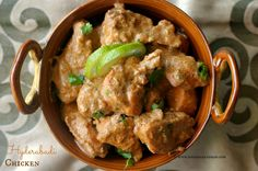 Ruchik Randhap (Delicious Cooking): Hyderabadi Chicken
