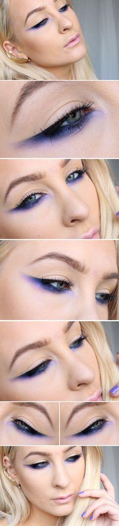 Dagens makeup - Purple stories