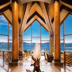 This stunning Lake Tahoe estate is on the market for $75 million. It features eight bedrooms 10 baths 13 fireplaces a 10-seat movie theater wine cellar and four-car garage.   via ROBB REPORT MAGAZINE OFFICIAL INSTAGRAM - Luxury  Lifestyle  Style  Travel  Tech  Gadgets  Jewelry  Cars  Aviation  Entertainment  Boating  Yachts